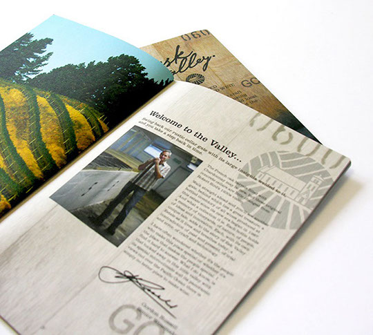 Esk Valley booklet design