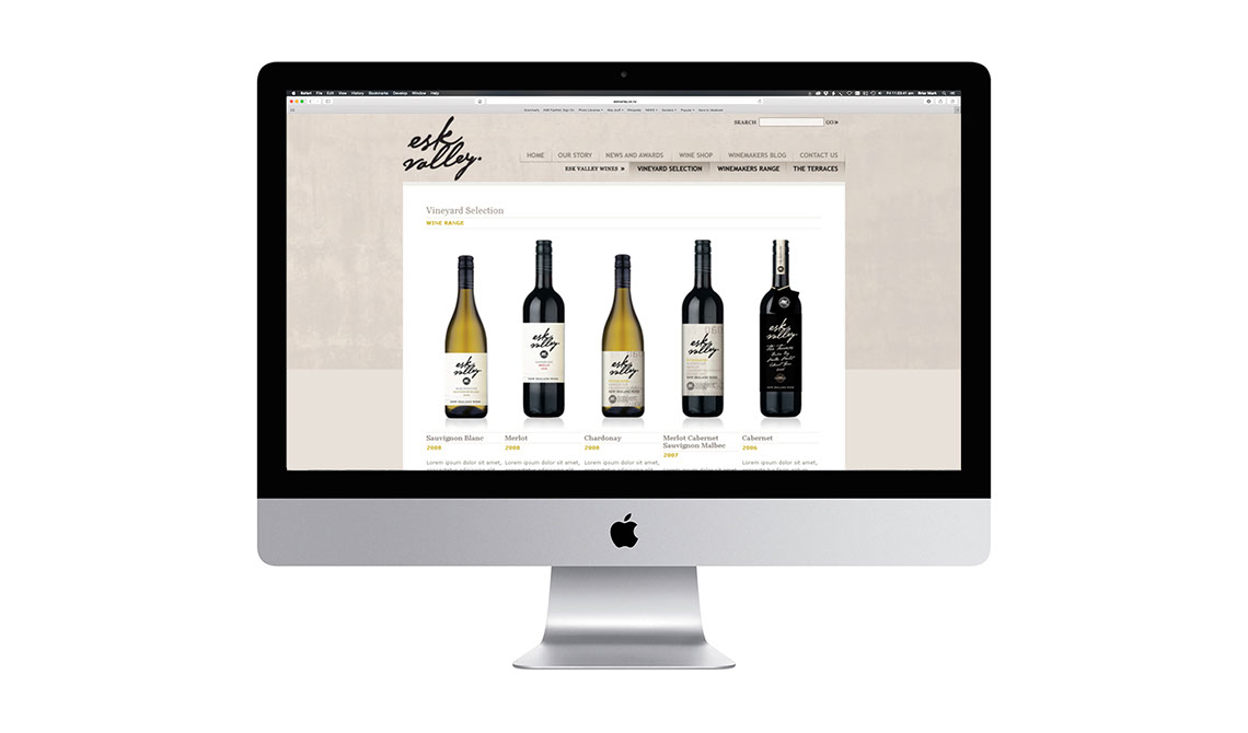 Esk Valley website design
