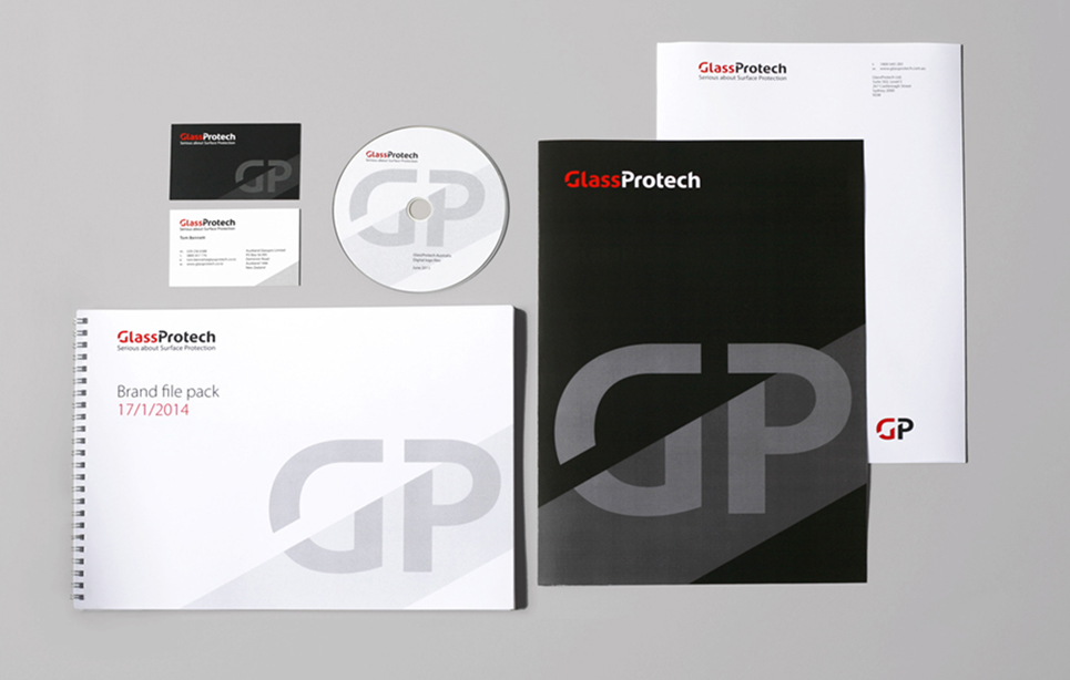 Glass Protech stationery