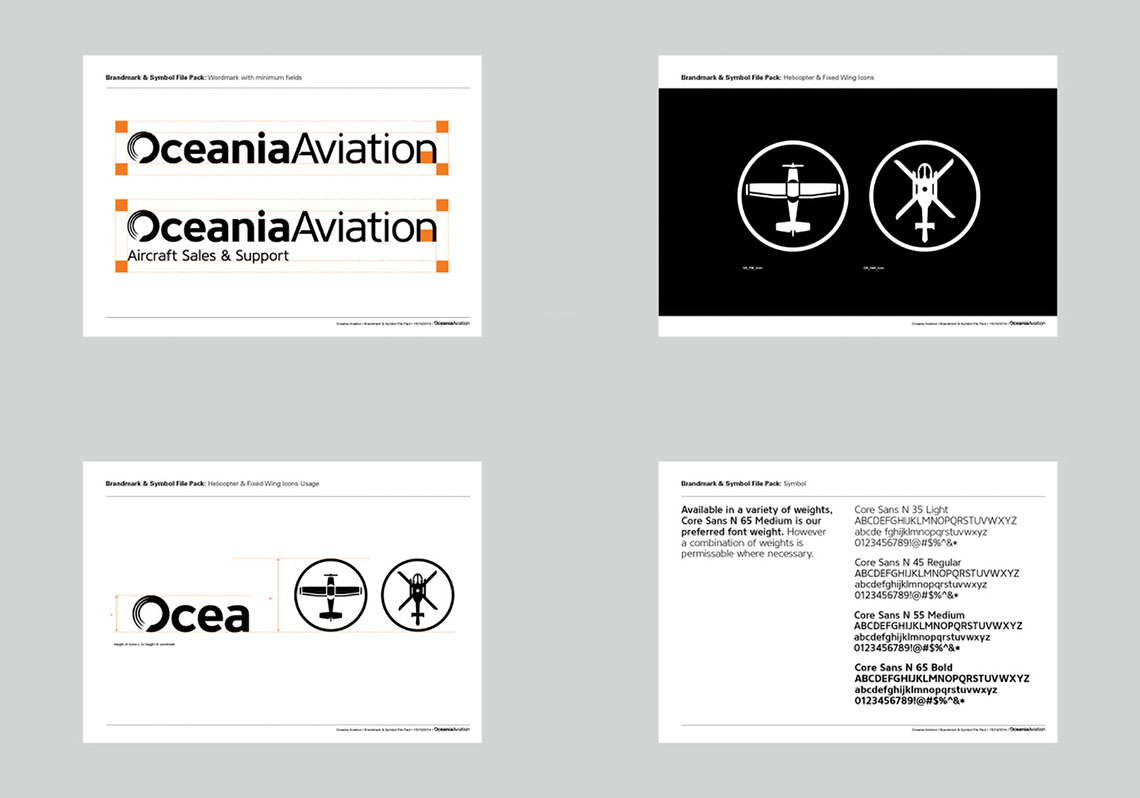 Oceania Aviation Brand Guides