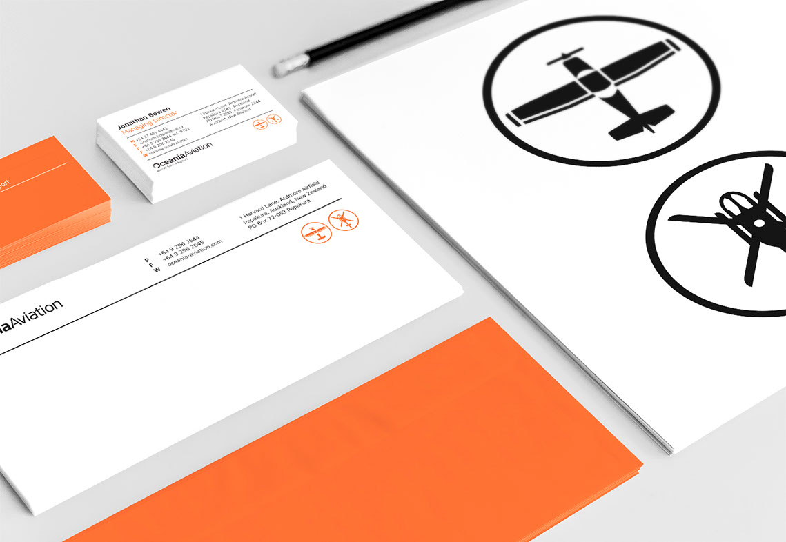Oceania Aviation Stationery